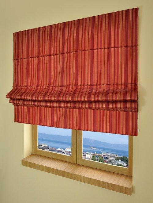 Вертикальные римские шторы своими руками.